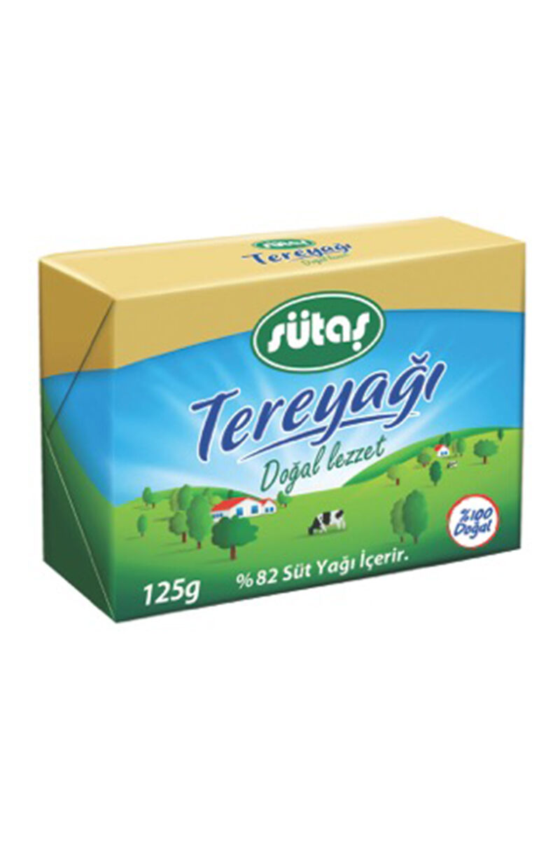 Image for Sütaş Tereyağ Folyo 125 Gr from Bursa