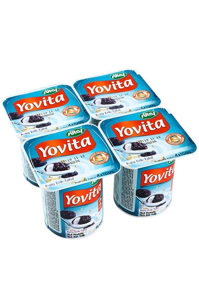 Image for Sütaş Yovita Kuru Erık 4*100 Gr from Bursa