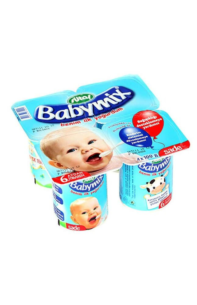 Image for Sütaş Babymix Sade 4*100 Gr from Antalya