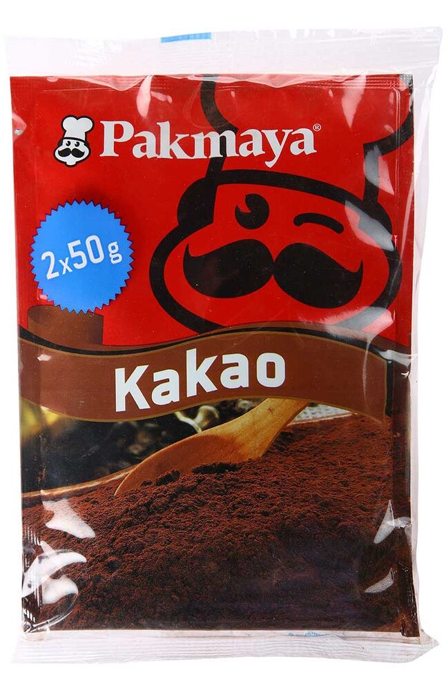 Image for Pakmaya Kakao 2 X 50 Gr from Eskişehir