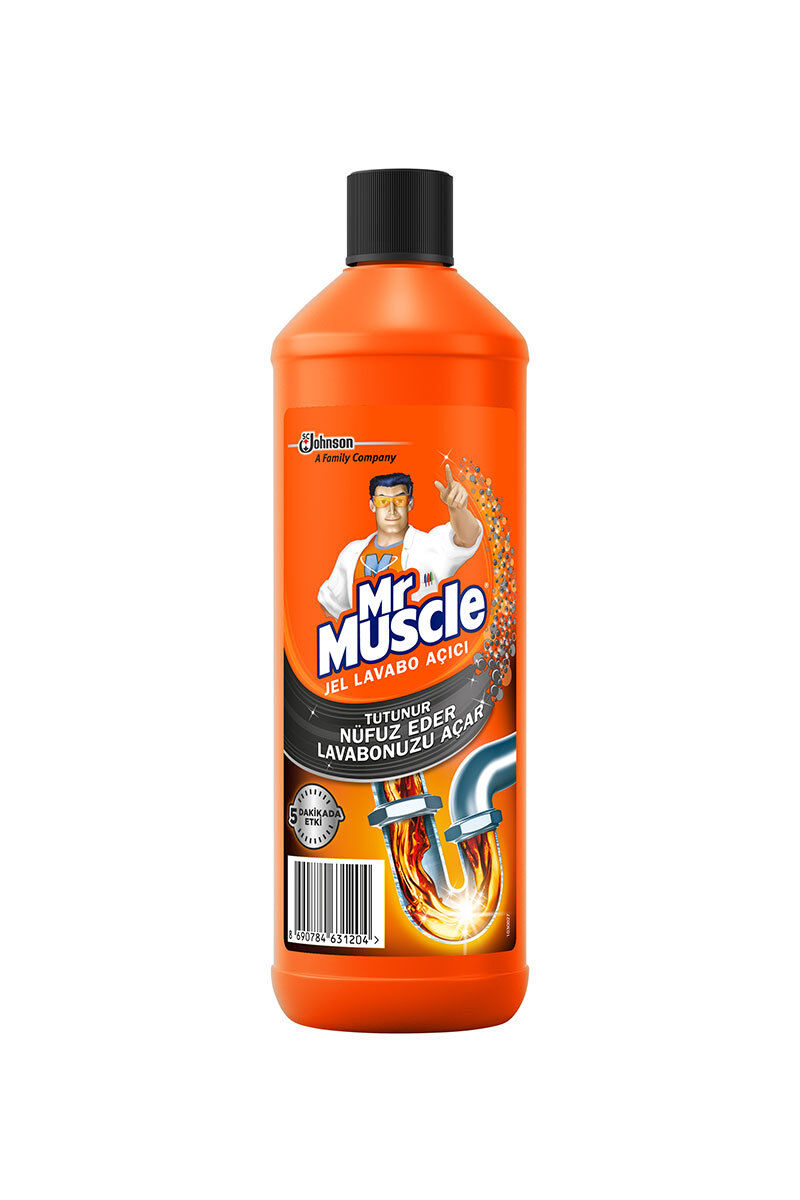 Mr.Muscle Lavabo Açıcı Jel 1000 Ml