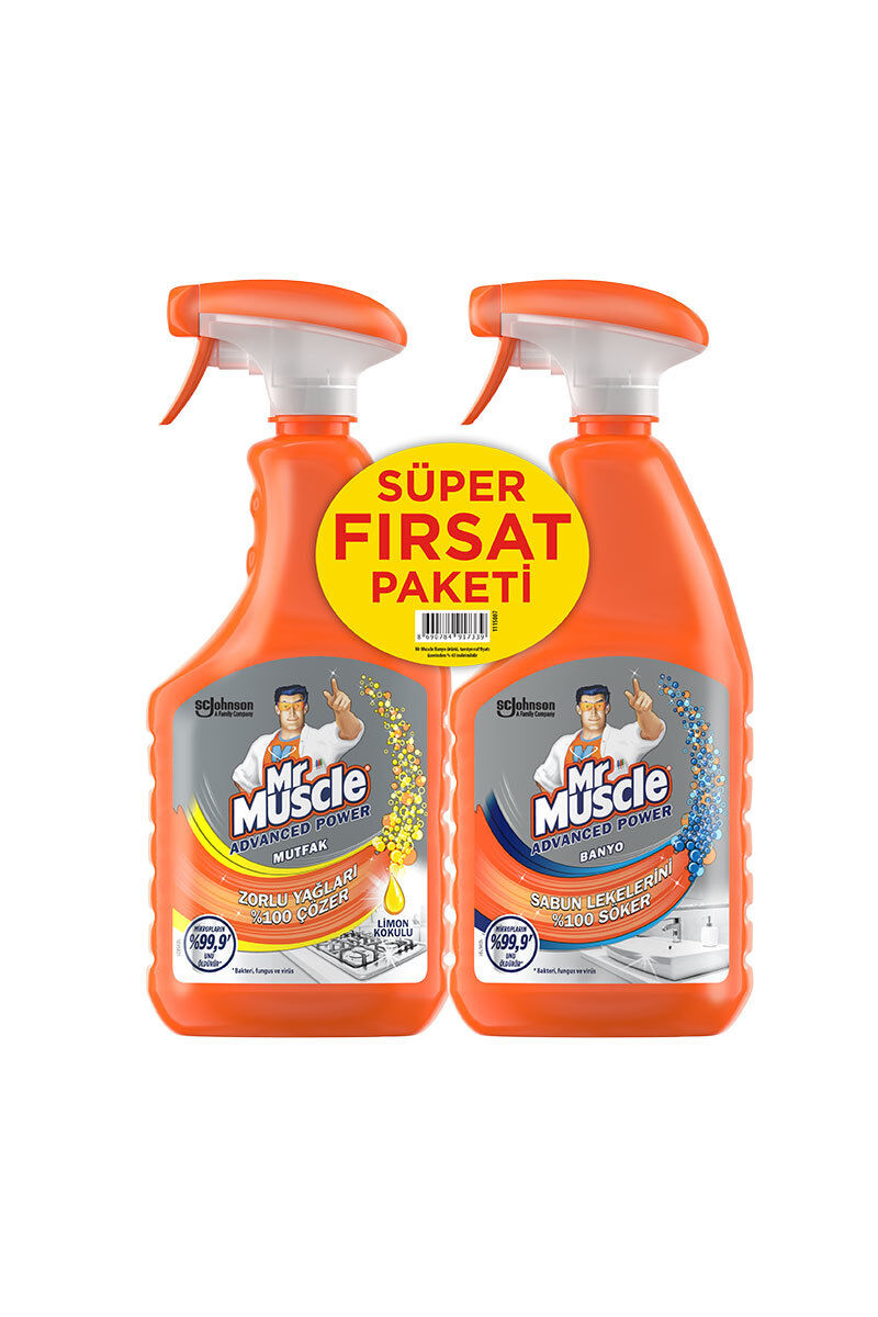 Image for Mr.Muscle Mutfak 750Ml+Banyo 750 Ml from Bursa