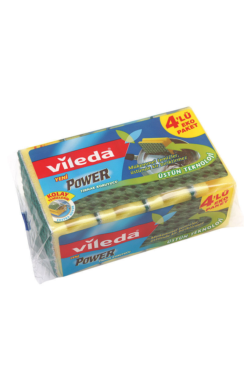 Image for Vileda Süngerpower 4 Lü Oluklu from Antalya