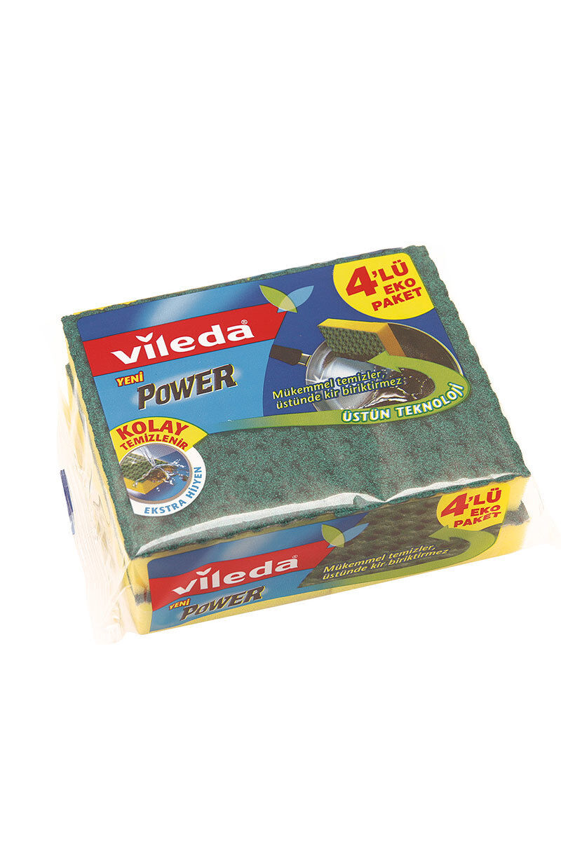 Image for Vileda Süngerpower 4 Lü Düz from Kocaeli