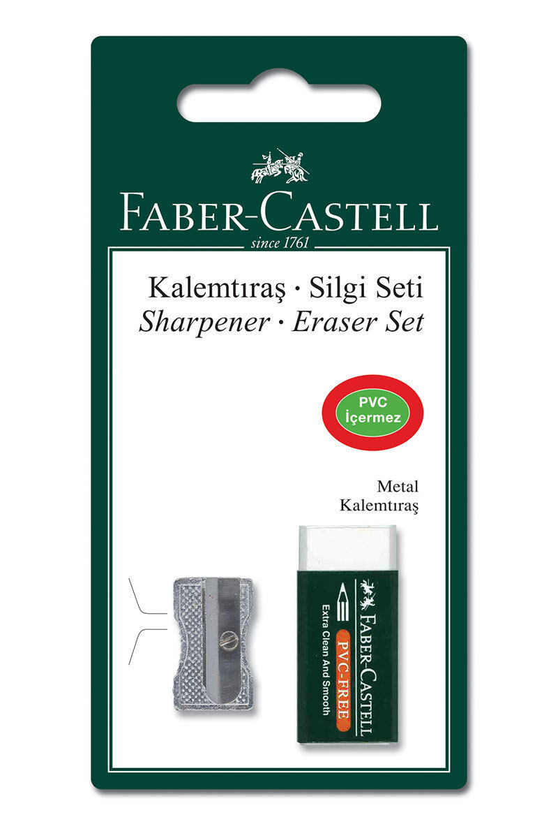 Image for Faber Castell Metal Kalemtraş Ve Silgi from Eskişehir