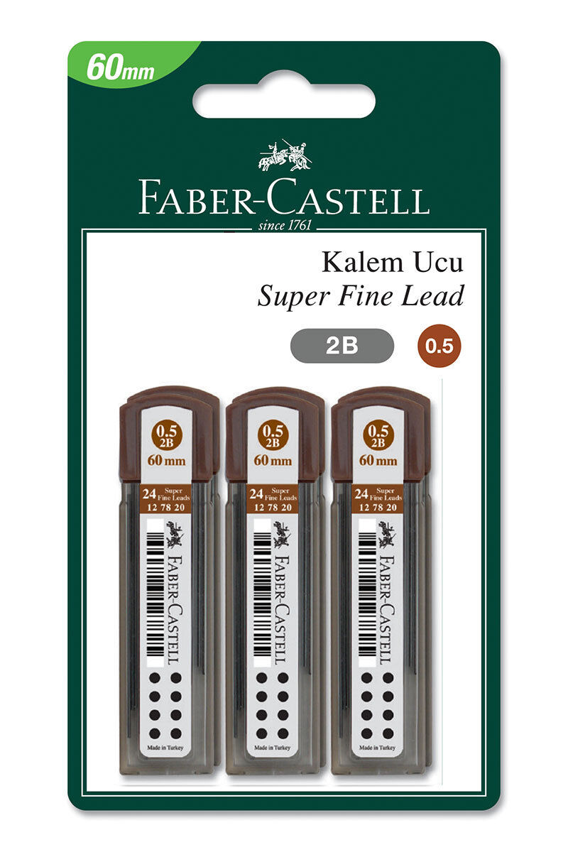 Image for Faber Castell 6 Li Grip Min 0.5 from Bursa