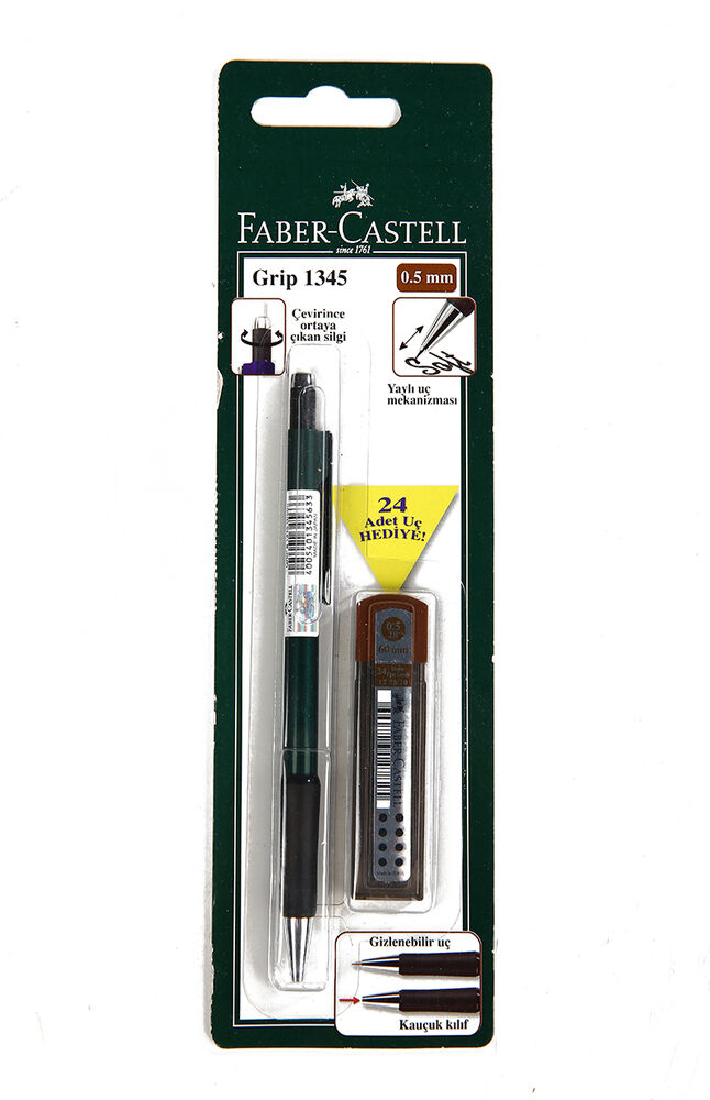Image for Faber Castell Versatil+Mın 0.5 2B Grıp. 1345 from Eskişehir