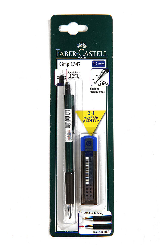 Image for Faber Castell Versatil+Mın 0.7 2B Grıp. 1347 from Eskişehir