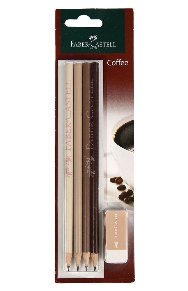 Image for KalemkurşunFaber Castell. 4Lı Coffe from İzmir