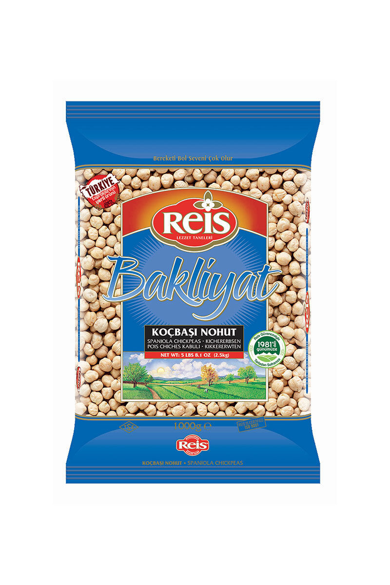 Image for Reis Nohut 1 Kg from İzmir
