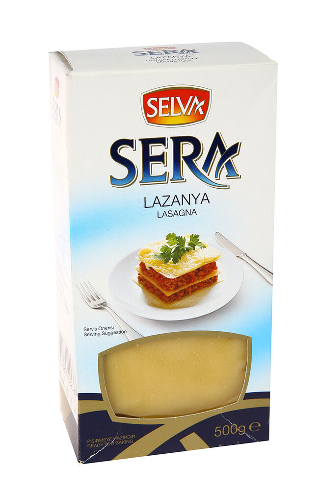 Image for Selva Sera Lazanya 500 Gr from Eskişehir