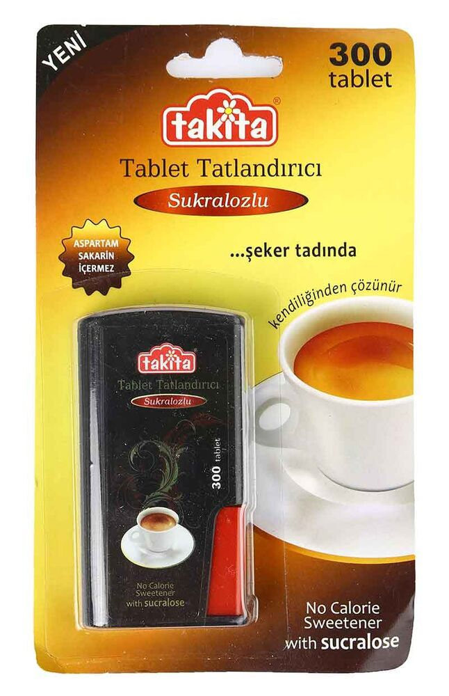 Image for Takita Tablet Sukralozlu 18 Gr from Bursa