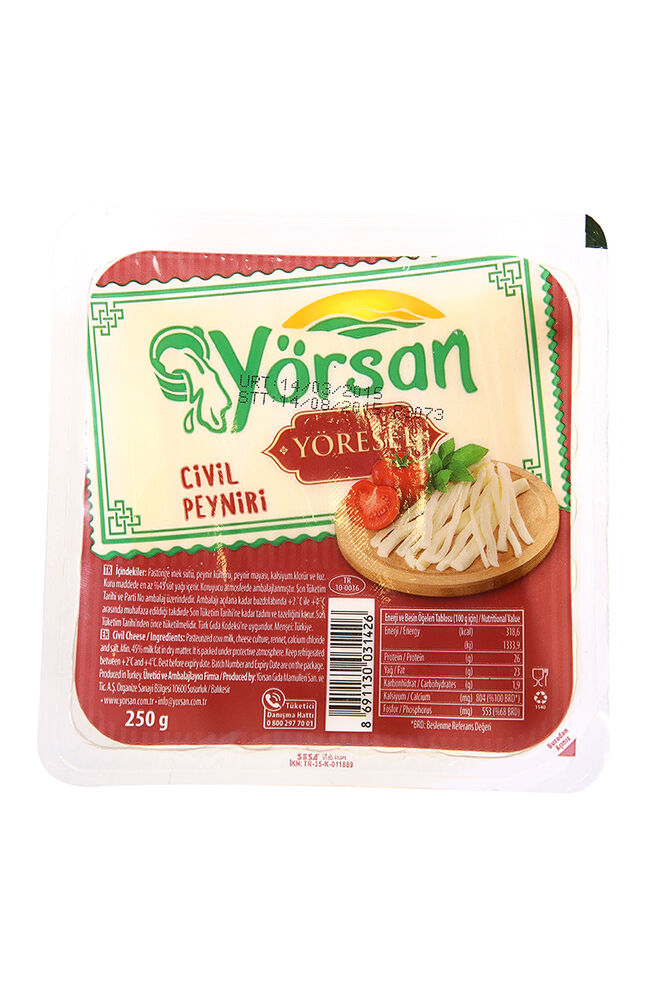 Image for Yörsan 250 Gr Civil Peynir from Antalya
