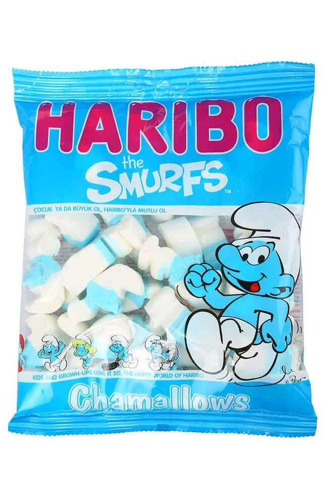 Haribo Chamallows 125 Gr. Smurfs