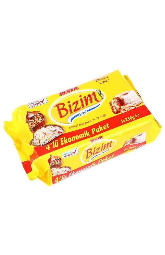 Image for Bizim Margarin 250 Gr X 4 Ekonomik from Kocaeli