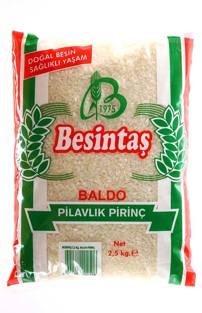 Image for Besintaş Baldo Pirinç 2.5 Kg from Bursa