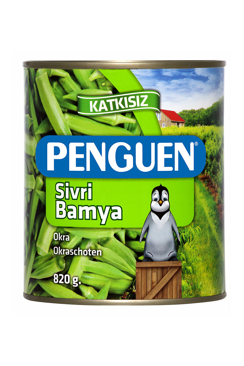 Image for Penguen Bamya Konservesı 820 Gr from Bursa