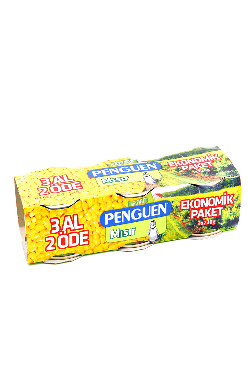 Image for Penguen Mısır 3 X 220 Gr from Bursa