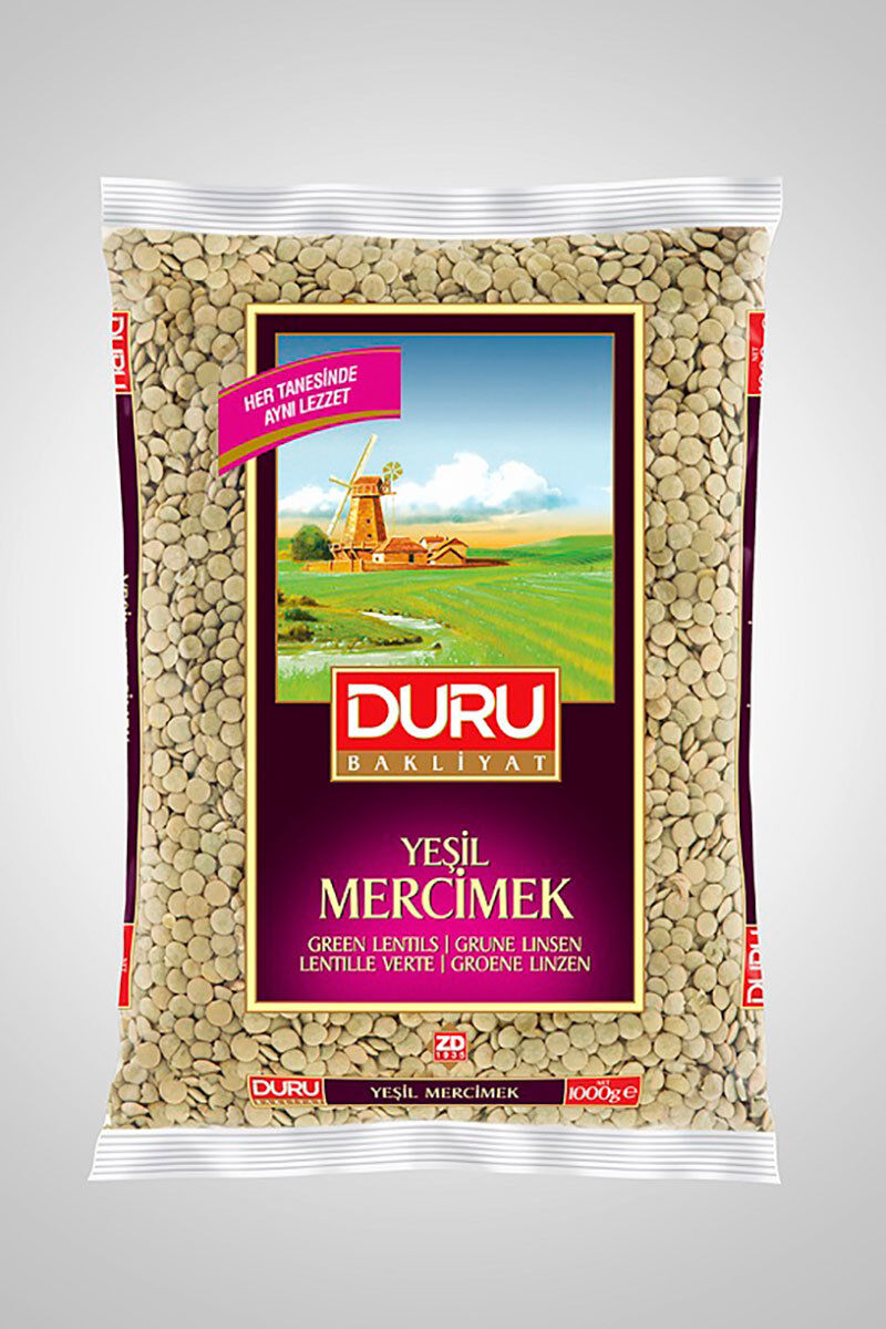 Image for Duru Yeşil Mercimek 1 Kg from Bursa
