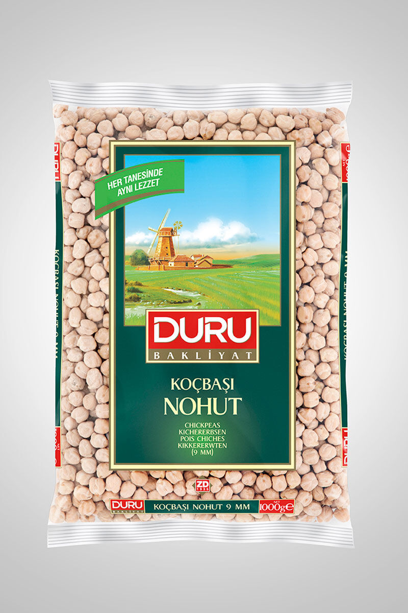 Image for Duru Koçbaşı Nohut 1 Kg from İzmir