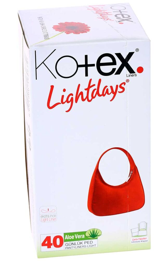 Image for Kotex Lightdays Aloe Vera 40'Lı from Antalya