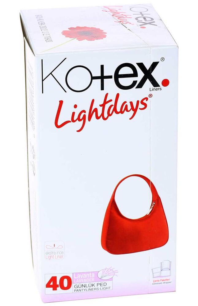 Image for Kotex Lightdays Lavanta 40'Li from Antalya