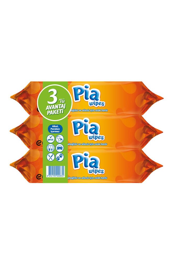 Image for Pia Wipes Islak Havlu Ecco 60X3'Lü from Antalya