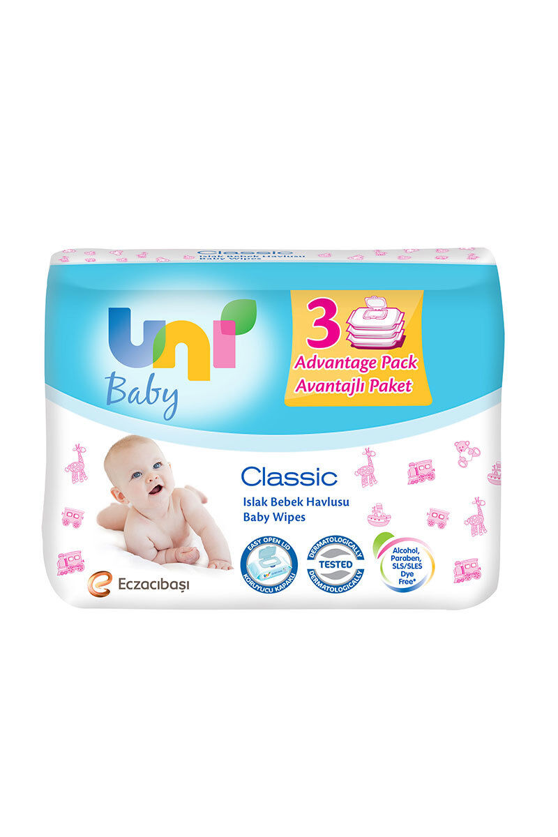 Image for Uni Wipes Baby Islak Havlu 3*64 Lü from Eskişehir