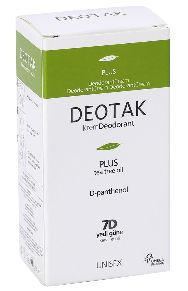 Deotak Krem Deodorant 35 Ml Plus