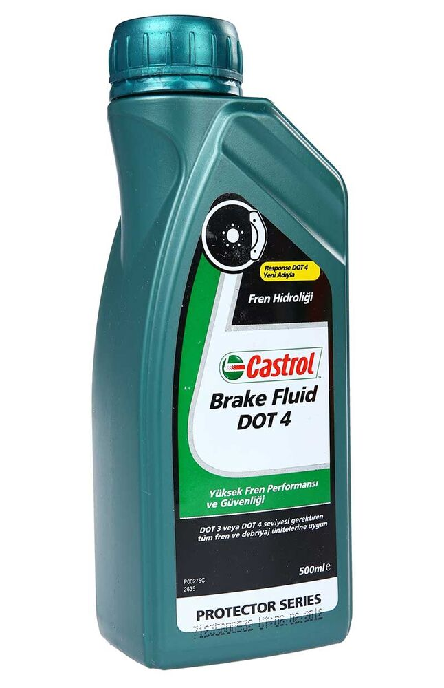 Image for Castrol Fren Hidroliği 0.5 Lt Dot 4 from Antalya
