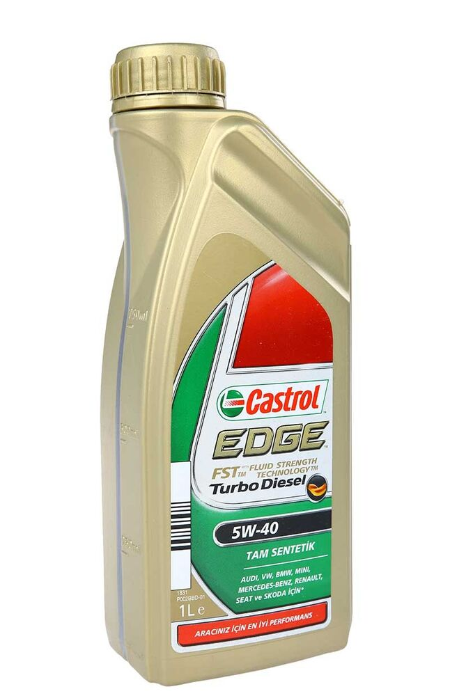 Image for Castrol Edge Turbo Diesel 5W-40 Motor Yağı 1Lt from Bursa