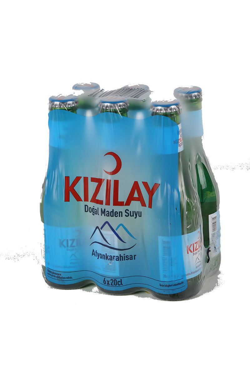Image for Kızılay Maden Suyu 6 X 200 Ml from Antalya