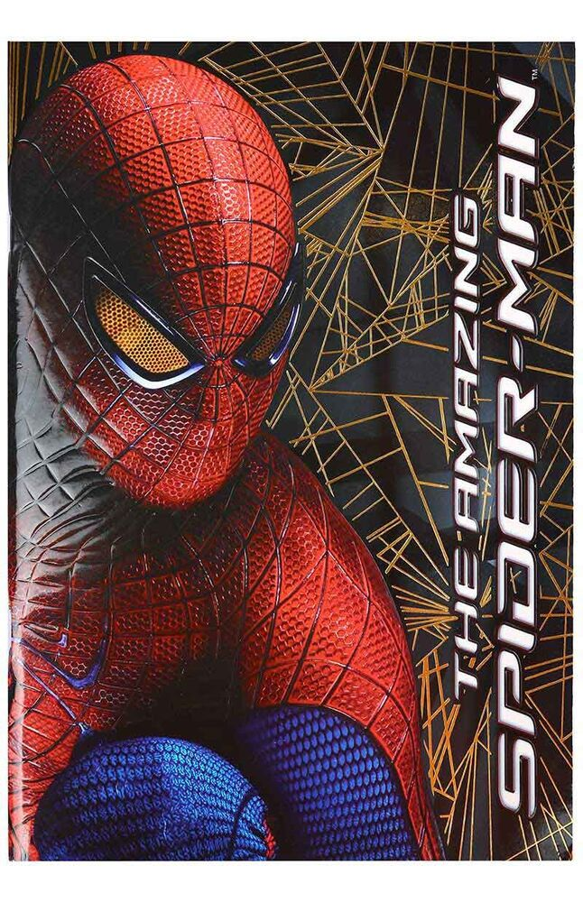 Image for Spiderman 56 Yaprak Kareli A4 Defter from İzmir