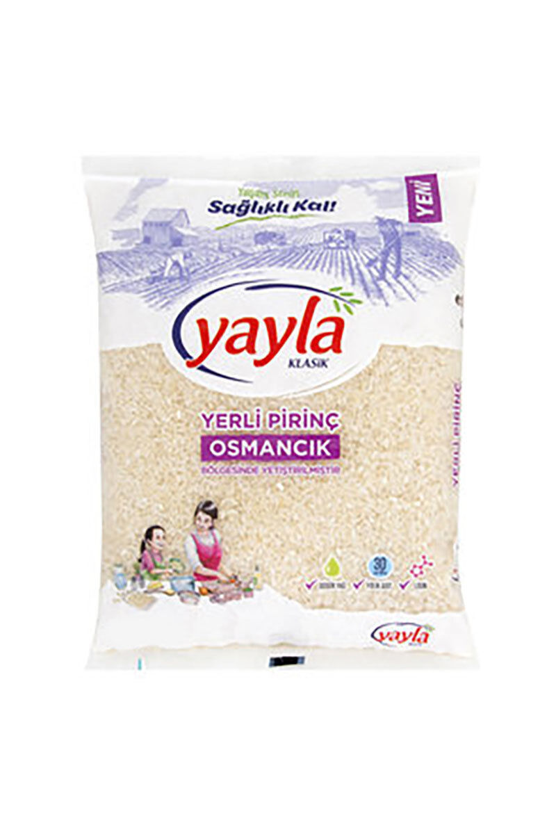 Image for Yayla Osmancık Pirinç 2,5 Kg from Bursa
