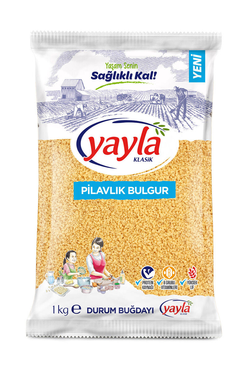 Image for Yayla Pilavlık Bulgur 1 Kg from Bursa