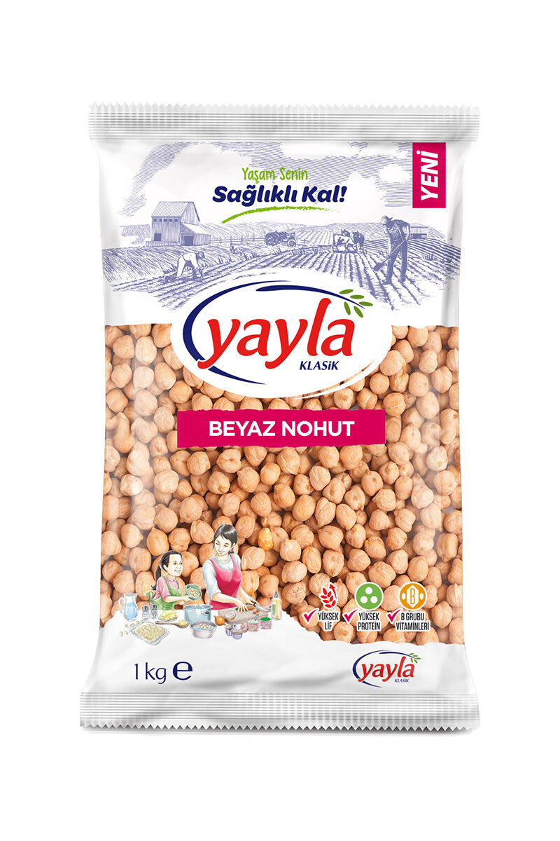 Image for Yayla Beyaz Nohut 1 Kg from Bursa