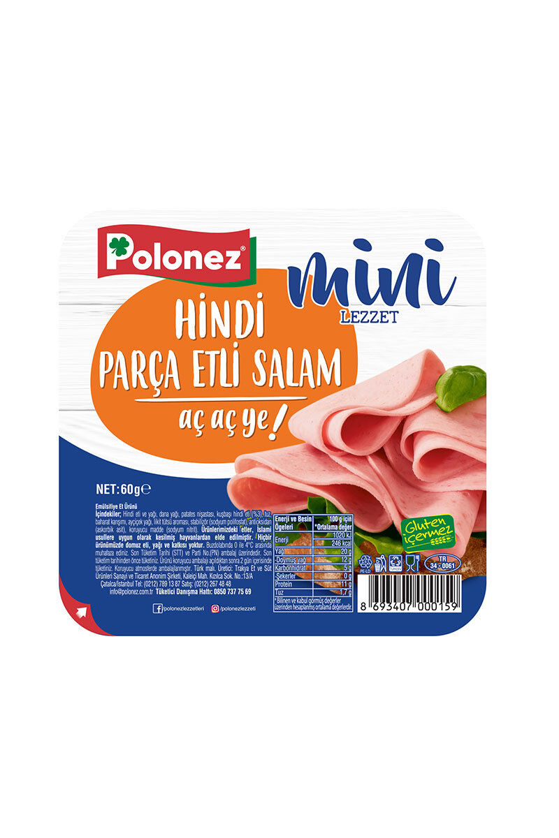Image for Polonez Hindi Dilimli Salam 60 Gr from İzmir