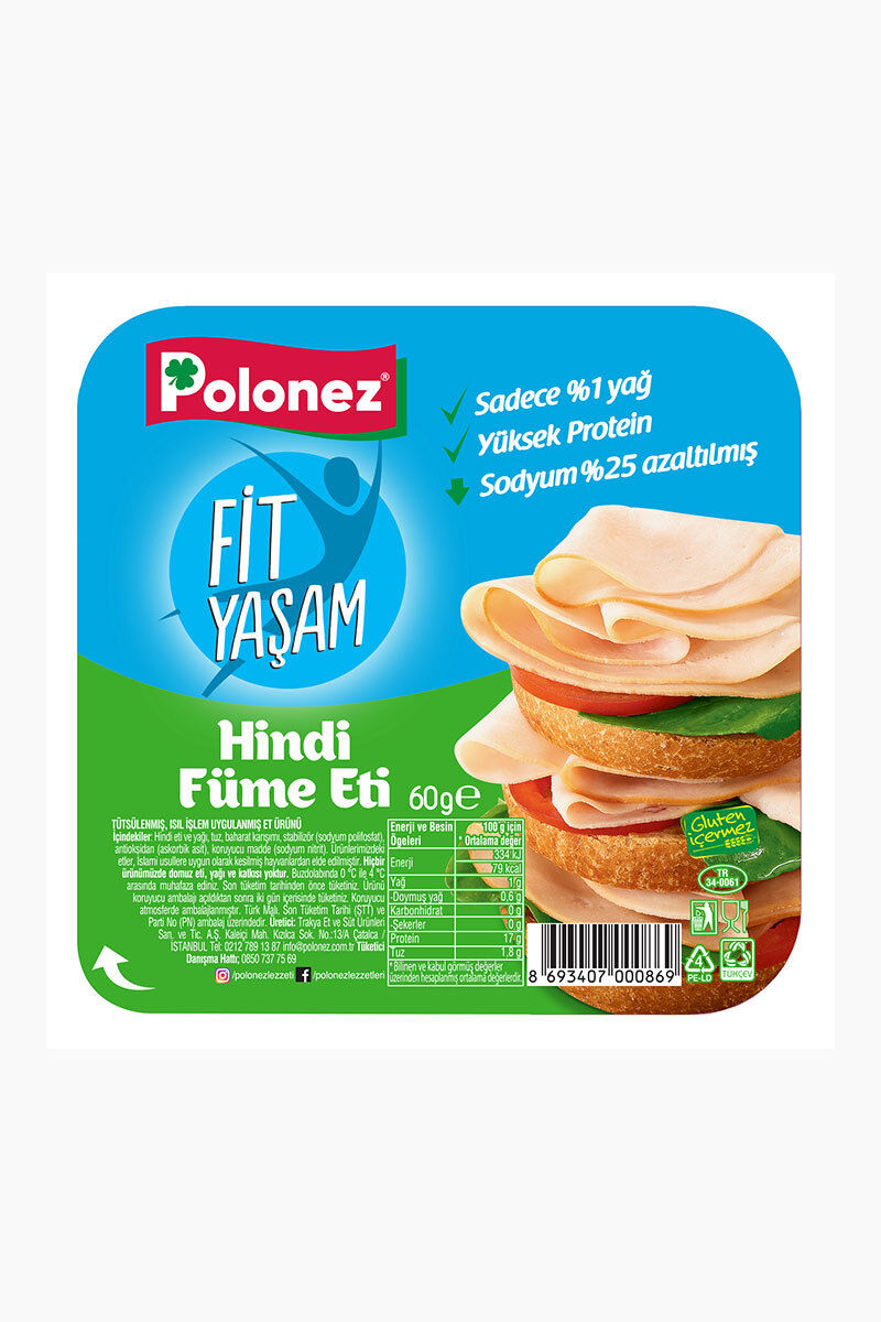 Polonez Hindi Füme Et 60 Gr