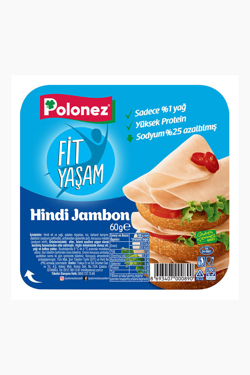 Image for Polonez Hindi Jambon 60 Gr from Antalya