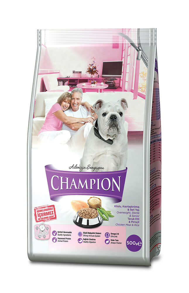 Image for Champion Tavuk Etli Ve Pirinçli Light Köpek Maması 500Gr from Bursa