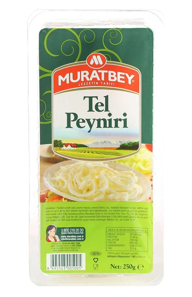 Image for Muratbey Tel Peyniri 250 Gr from Bursa