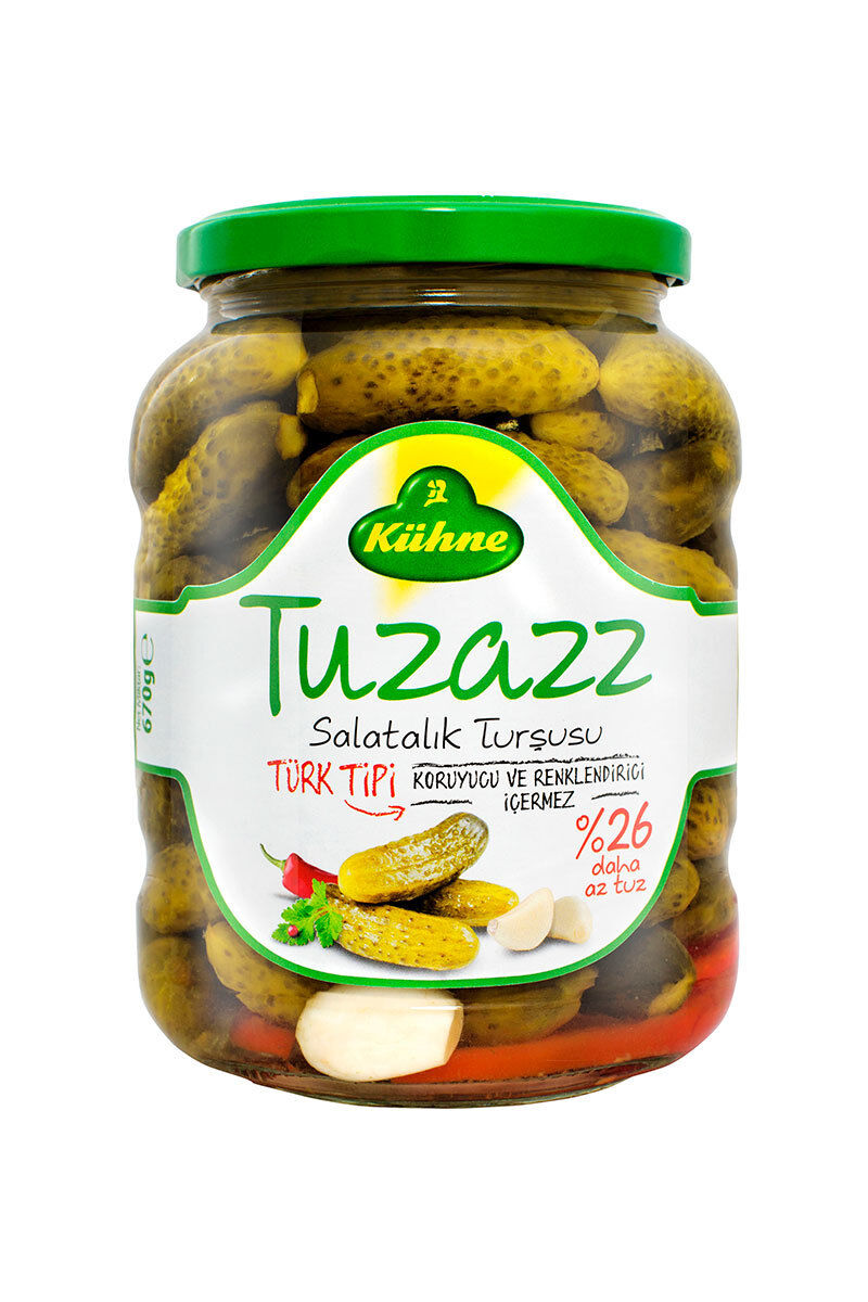 Image for Kühne Kornişon Turşusu Tuz Az 720 Ml from Eskişehir