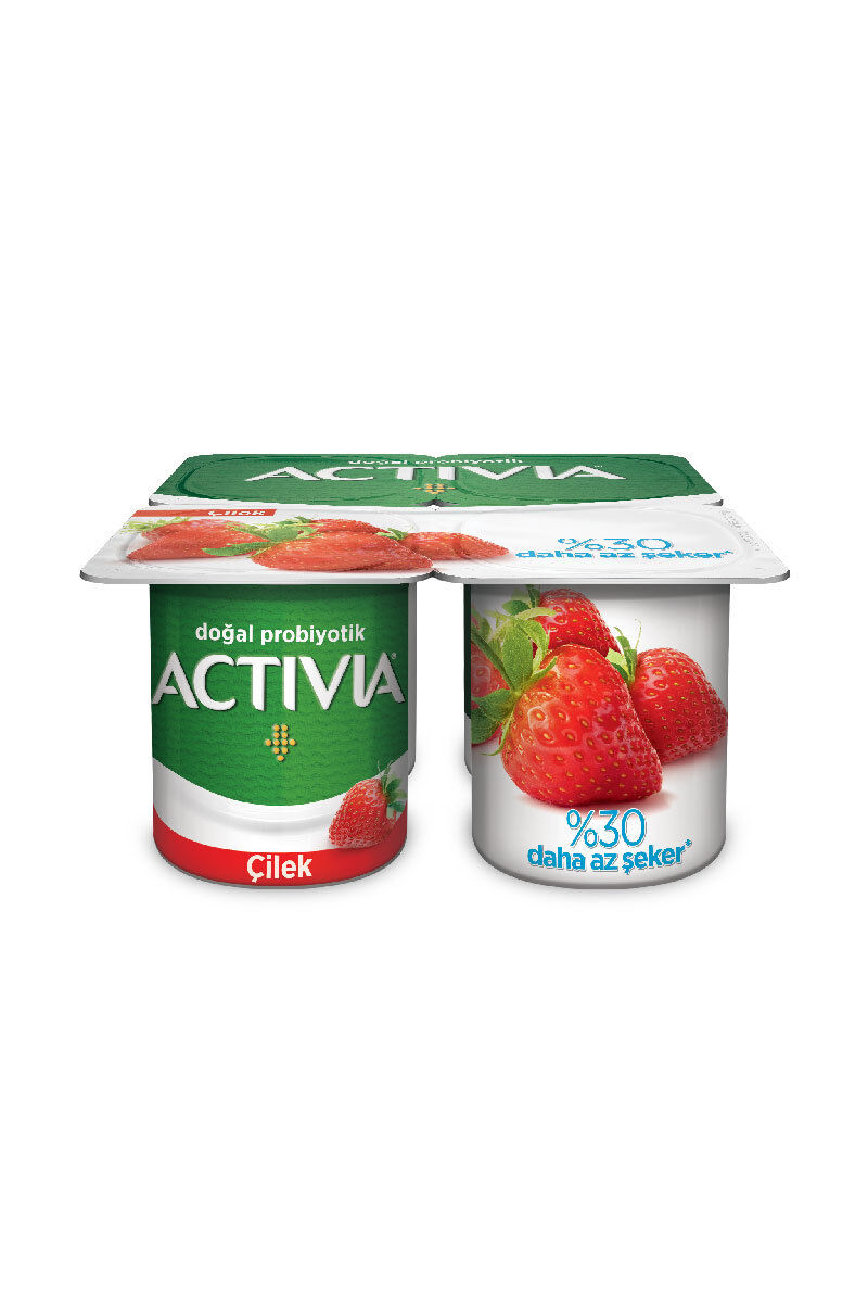 Image for Danone Activia 4*110 Gr Çilek Keten Tohumlu from Bursa