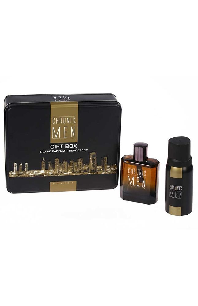 Chronic Men Edp Parfüm 100Ml + 150Ml Deodorant Honest