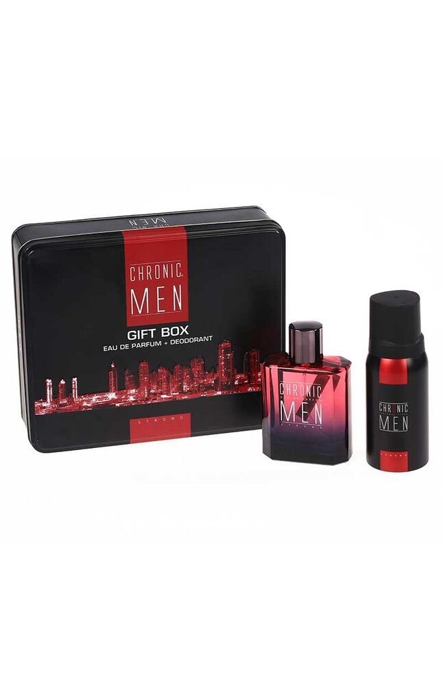 Chronic Men Edp Parfüm 100Ml + 150Ml Deodorant Strong
