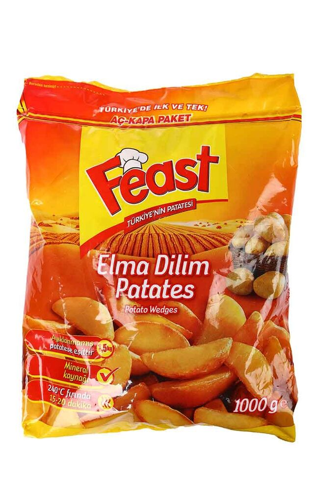 Image for Feast Patates Elma Dilimli 1 Kg from Bursa