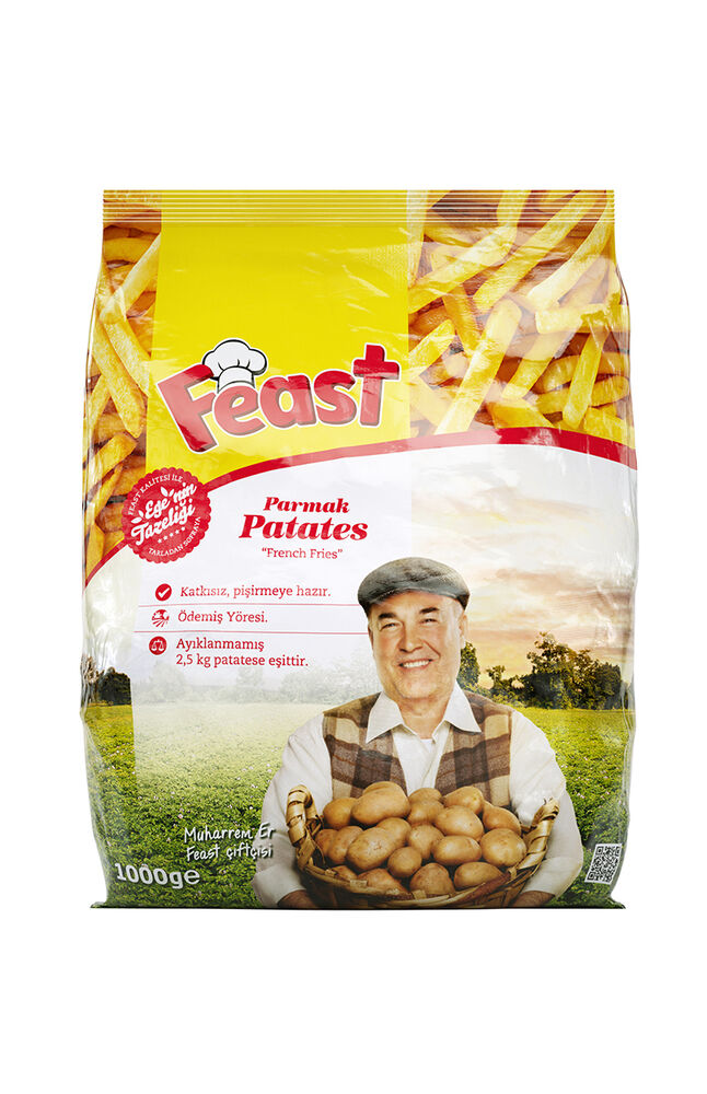 Image for Feast Patates Parmak 1 Kg from Antalya