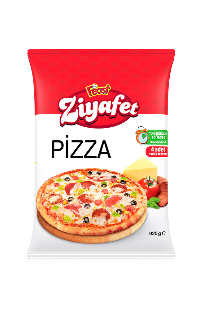 Image for Feast Ziyafet Karışık Pizza 4x920 Gr from Bursa