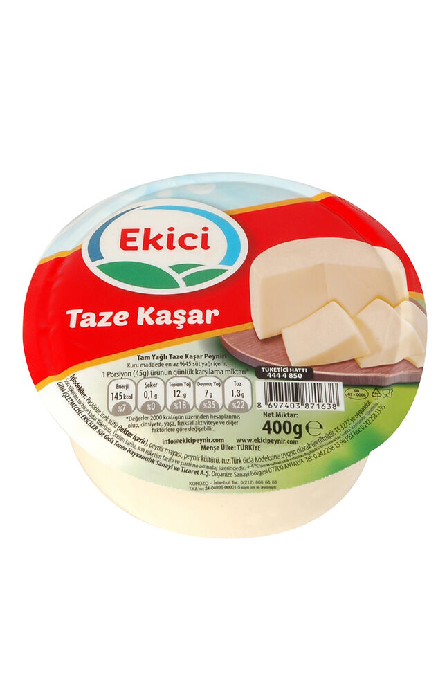 Image for Ekici Kaşar Peyniri 400 Gr from Bursa