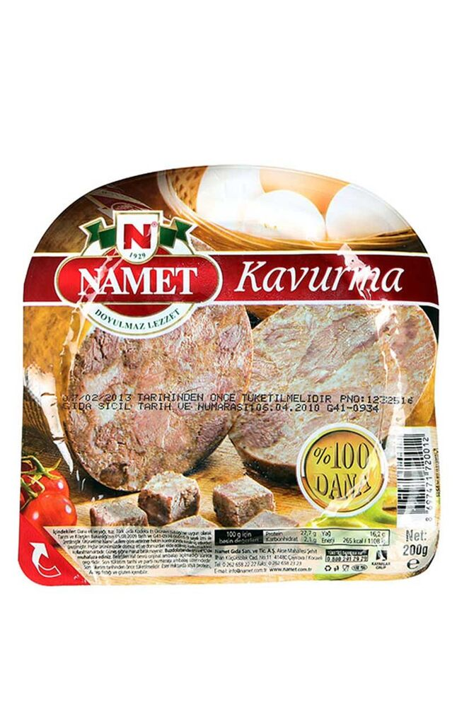 Image for Namet Kavurma 200 Gr from Bursa